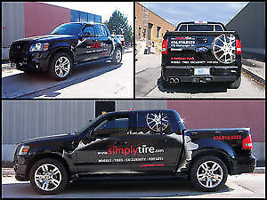 VEHICLE WRAPS & VINYL LETTERING