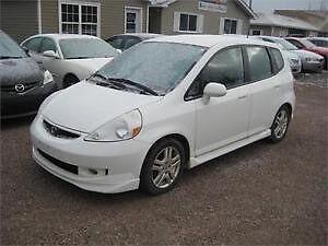 2008 Honda Fit Sport Hatchback