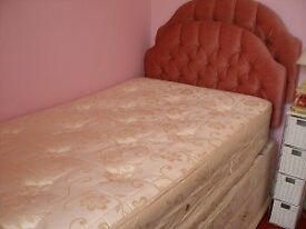 FREE - Single Divan Bed - needs to be collected as soon as possible.