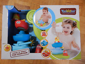 Yookidoo Stack 'n' Spray Tub Fountain - Bath toy - New in Box