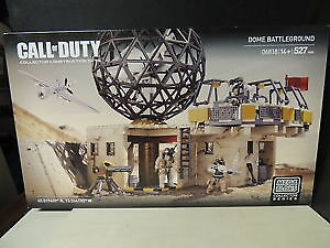 NEW Call of Duty Mega Bloks Dome Battleground 527 Pieces Age 14+
