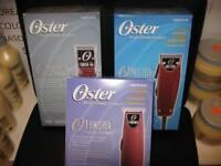 Parlux 3800 Ionic,Oster76 Clipper,Andis T Outliner Trimmer