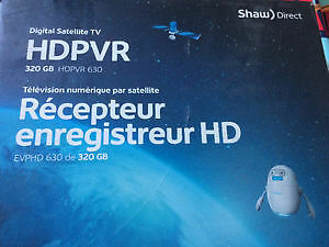 2 Récepteur enrégistreur SHAW DIRECT HD 630 320GB satélite