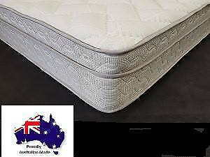 Free Delivery*. Queen size Pillow Top Mattress, Australian Made.