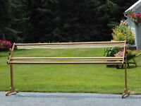 Quilting Rail System Frame