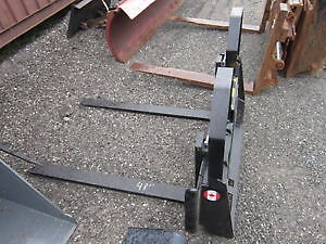 Skidsteer Forks, All sizes, Canadian Built, Shipping Canada Wide