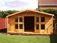 Custom sheds- We make summerhouses and sheds to size