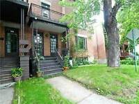 Outremont large 7.5 with with 15 foot terrase in back renovated