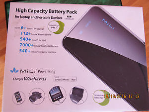NEW 18000mAh High-Capacity Power Bank for laptop, tablet, phones