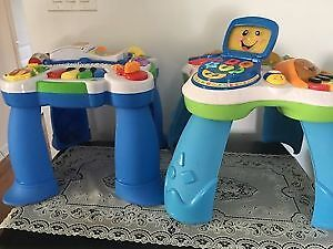Baby activity centers. AVAILABLE