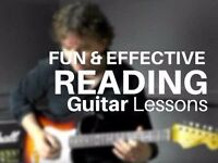 Fun and effective guitar lessons in Reading Berkshire