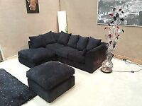 """BRAND NEW!"" KENNING JUMBO CORD CORNER SOFA ***SPECIAL OFFER!***"