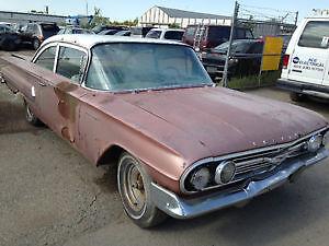 1960 chev Biscayne 2door hard top