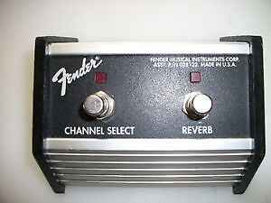 Looking for Fender channel/reverb footswitch