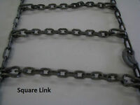 SKID STEER - TIRE CHAINS