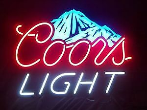 Coors Light LED Beer Sign...