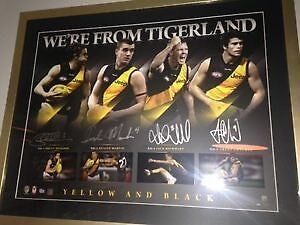 We're from Tigerland framed lithograph Yarraville Maribyrnong Area Preview