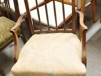 SALE NOW ON!! Edwardian Bedroom Chair - Can Deliver For £19