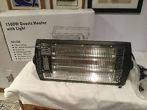 QUARTZ OVERHEAD RADIANT HEATER