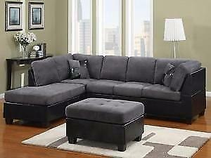 Furniture Warehouse - Many Leather & Fabric Sectionals, Couches, Sofas & Futons Available at the Lowest Prices!