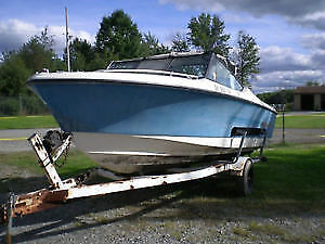 19.5 ft.- Siverline Nantucket Cubby Cabin Cruiser FOR SALE