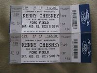 Kenney Chesney at Ford Field Detroit