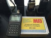 The MFJ-226 impedance analyser