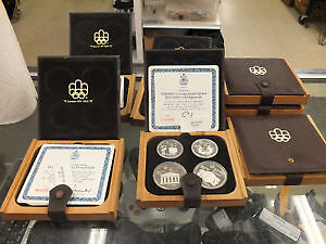1976 OLYMPIC COIN SET FOR SALE