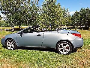 2007 Pontiac G6 GT Convertible Coupe