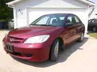 Safetied 2005 Civic SE Manual, amazing condition! Like new!