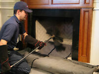 Chimney Clean/ Chimney Sweep( Best Rate in Manitoba) $120