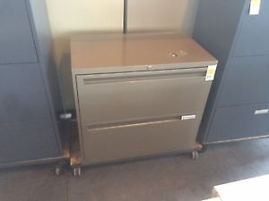 Used 2 Drawer Lateral Filing Cabinets - Starting at $99.00