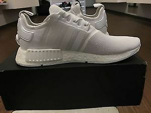 NMD Adidas Men size 10 all white Brand New