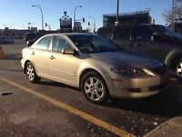 2005 Mazda 6 - 126,097km - reduced price