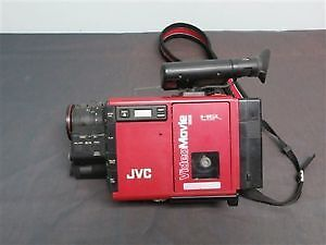 Vintage JVC Video Movie Camera Recorder & Professional Tripod