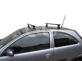 Corsa roof bars/rack