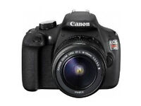 Canon T5 DSLR with 18-55mm lens - BRAND NEW!
