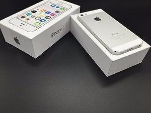 Silver White iPhone 5S Unlocked 32 GB Brand New in Box