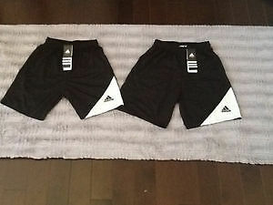 2 NEW PAIRS OF ADIDAS CLIMATE SHORTS WITH TAGS size 10&12 London Ontario image 1