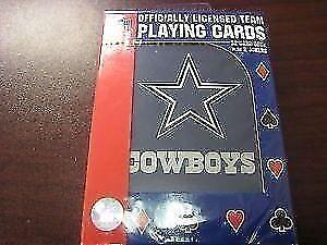 Dallas Cowboys Deck Of Cards (New) Calgary Alberta Preview