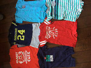 20 Carters Summer Rompers 18m