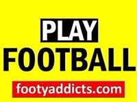 PLAY FOOTBALL -- casual games across the city sign up online pay to play