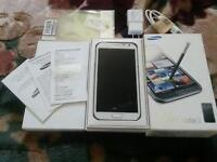 WIND COMPATIBLE, UNLOCKED NOTE 2 WHITE PERFECT CONDITION!!
