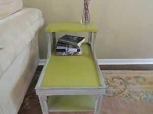 Rustic Two Tier End Table