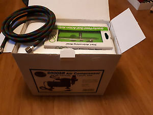 Iwata new D/A airbrush hose and compressor
