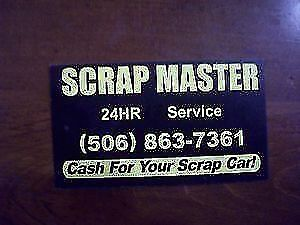 CASH FOR SCRAP CARS 24 HR SERVICE FREE TOWING