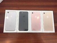 Iphone 7 256gb Jet Black unlocked with Apple warranty