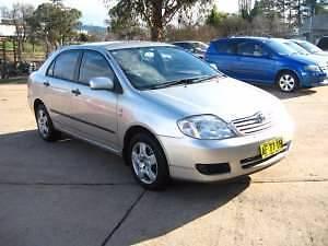 2004 Toyota Corolla Sedan Kelso Bathurst City Preview