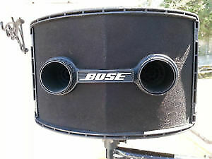 BOSE 802 II  EQ AND STANDS     COMPLETE $600
