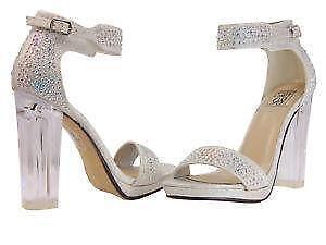 981bfa118 Rhinestone Strappy Shoes
